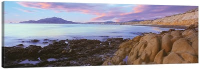 Coastal Landscape I, Cabo Pulmo National Marine Park, Baja California Sur, Mexico Canvas Art Print