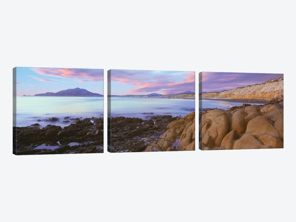 Coastal Landscape I, Cabo Pulmo National Marine Park, Baja California Sur, Mexico by Panoramic Images 3-piece Canvas Art Print