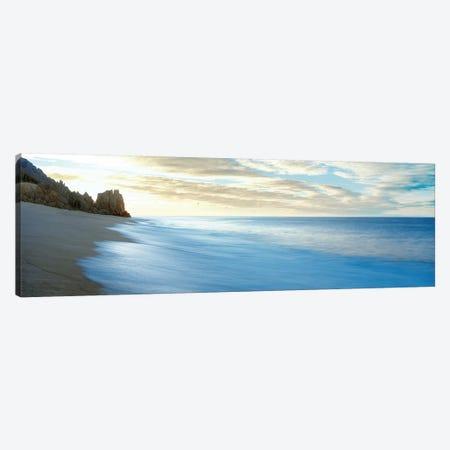 Sunset Seascape, Cabo San Lucas, Baja California Sur, Mexico Canvas Print #PIM14149} by Panoramic Images Canvas Artwork
