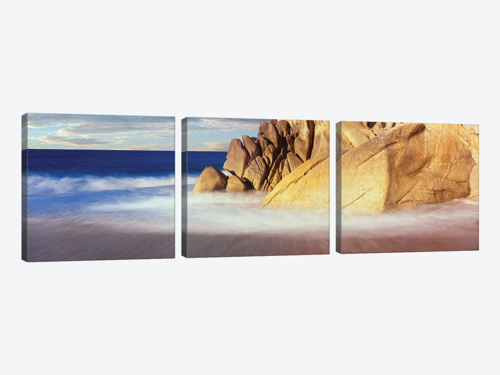 Coastal Rock Formations I, Cabo San Lucas, Baja California Sur, Mexico by Panoramic Images 3-piece Canvas Art
