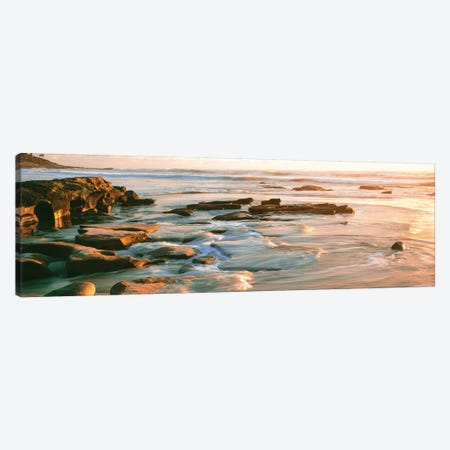 Coastal Rock Formations I, Windansea Beach, La Jolla, San Diego, San Diego County, California, USA Canvas Print #PIM14156} by Panoramic Images Canvas Art