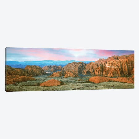 Snow Canyon State Park I, Washington County, Utah, USA Canvas Print #PIM14158} by Panoramic Images Art Print