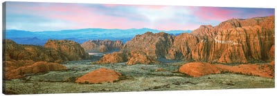 Snow Canyon State Park I, Washington County, Utah, USA Canvas Art Print