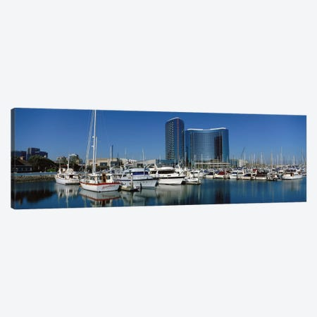 Embarcadero Marina Hotel, San Diego, California, USA Canvas Print #PIM1415} by Panoramic Images Canvas Art Print