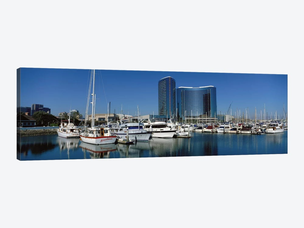 Embarcadero Marina Hotel, San Diego, California, USA by Panoramic Images 1-piece Canvas Print