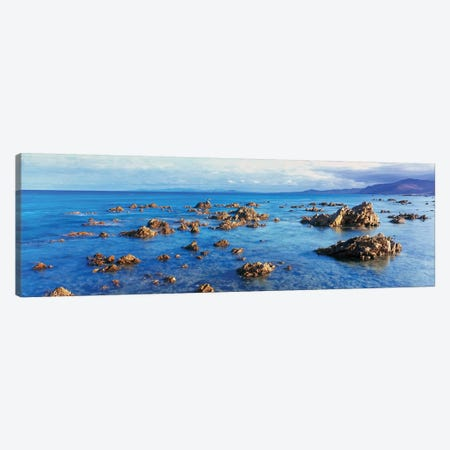 Coastal Rock Formations, Gulf of California (Sea of Cortez), Baja California Sur, Mexico Canvas Print #PIM14161} by Panoramic Images Canvas Artwork