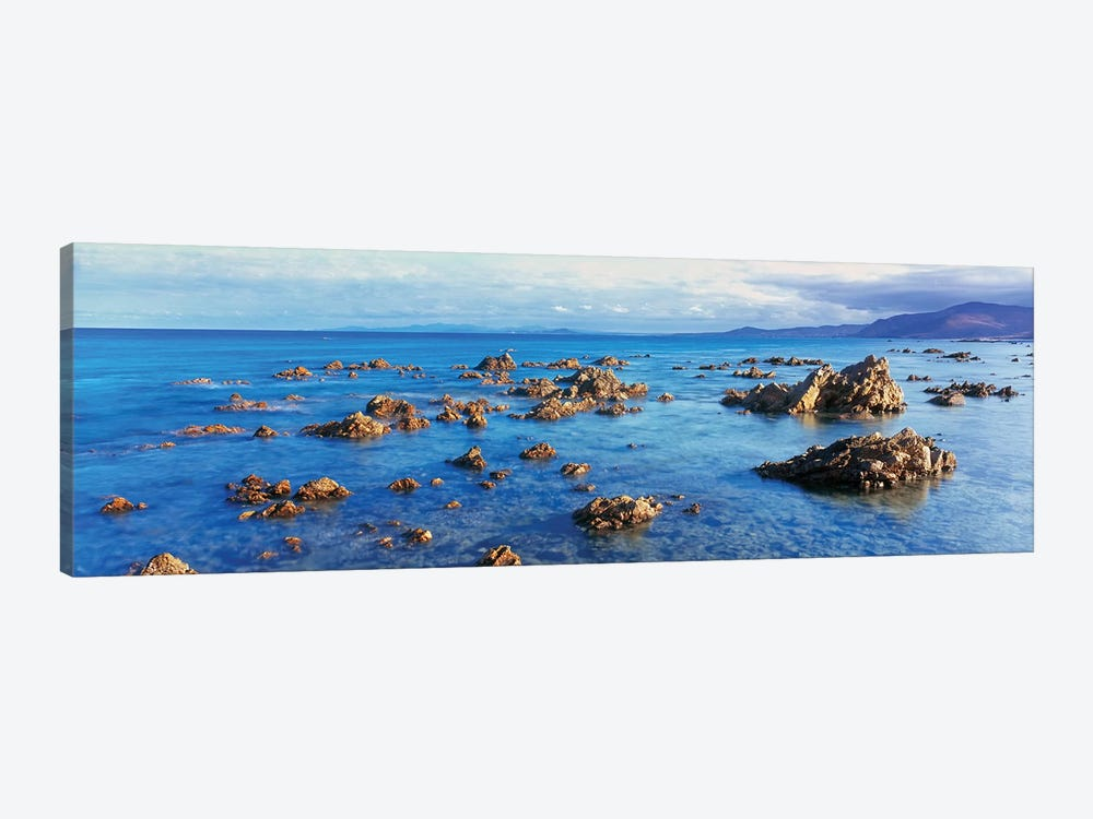 Coastal Rock Formations, Gulf of California (Sea of Cortez), Baja California Sur, Mexico by Panoramic Images 1-piece Canvas Wall Art
