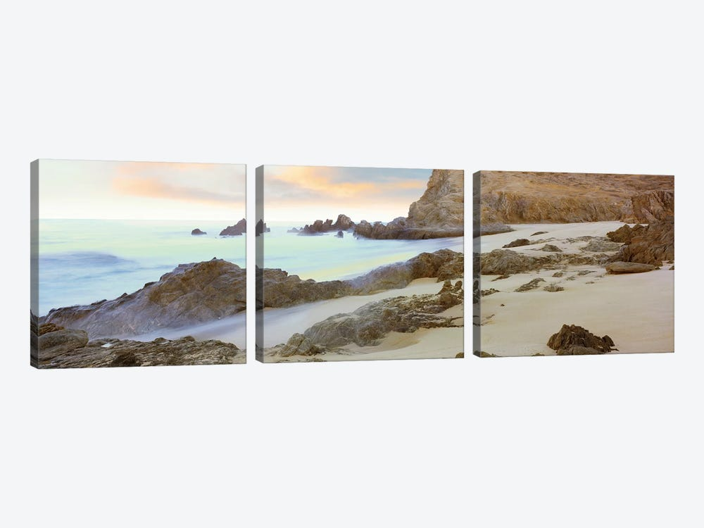 Coastal Landscape II, Cerritos Beach (Playa Los Cerritos), Todos Santos, Baja California Sur, Mexico 3-piece Canvas Artwork