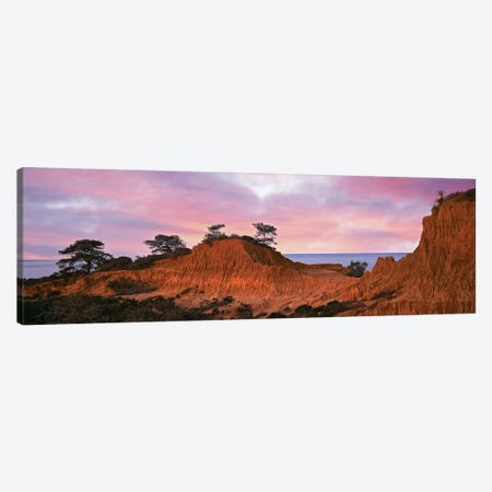 Broken Hill, Torrey Pines State Natural Reserve, La Jolla, San Diego, California, USA Canvas Print #PIM14164} by Panoramic Images Art Print