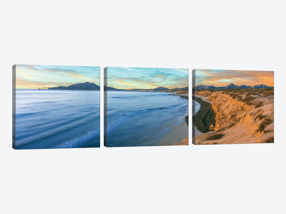 Coastal Landscape II, Cabo Pulmo National Marine Park, Baja California Sur, Mexico by Panoramic Images 3-piece Canvas Art