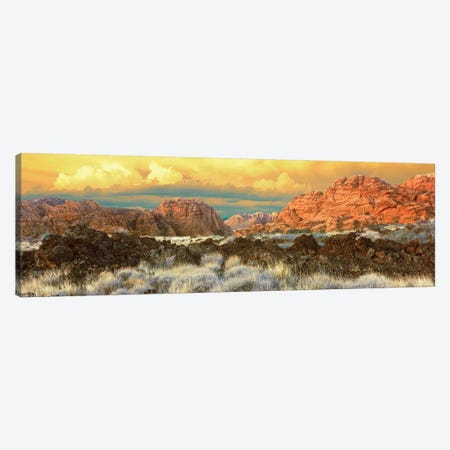 Snow Canyon State Park II, Washington County, Utah, USA Canvas Print #PIM14166} by Panoramic Images Canvas Print