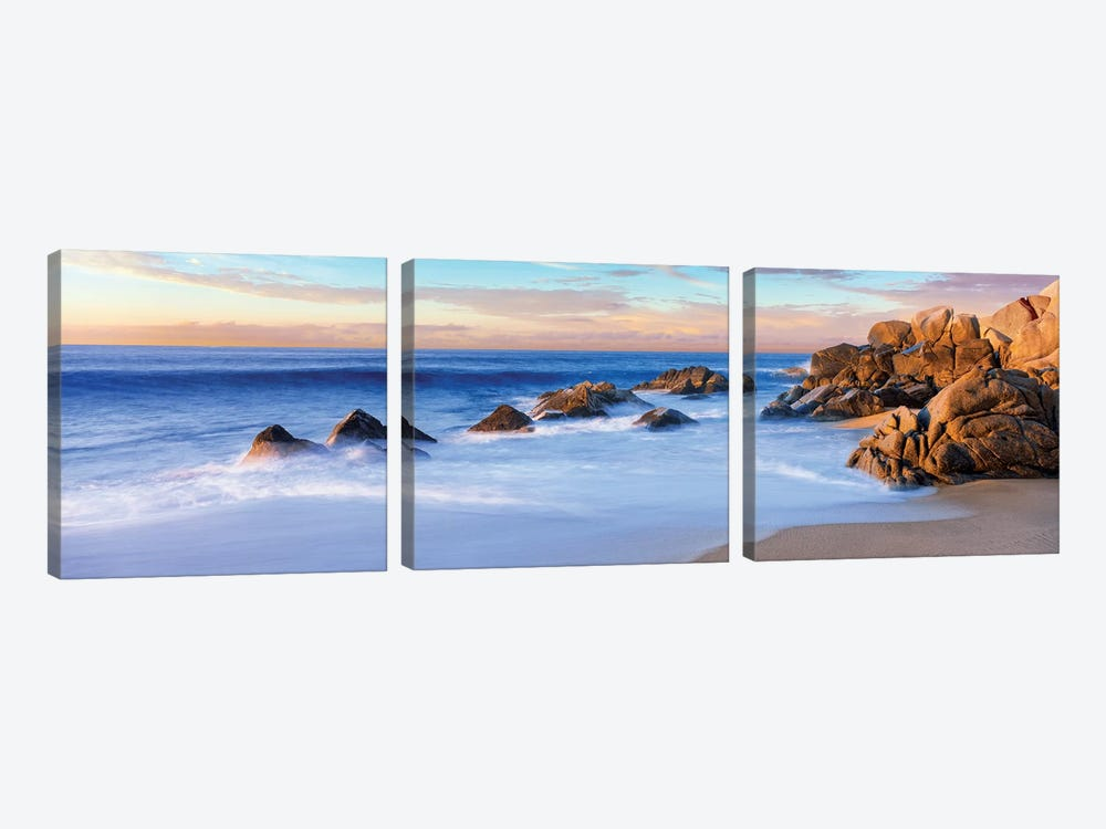 Coastal Rock Formations II, Cabo San Lucas, Baja California Sur, Mexico by Panoramic Images 3-piece Canvas Print