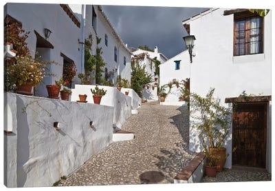 The Lost Village of El Acebuchal (Pueblo el Fantasmas) VII, Axarquia Comarca, Malaga Province, Spain Canvas Art Print