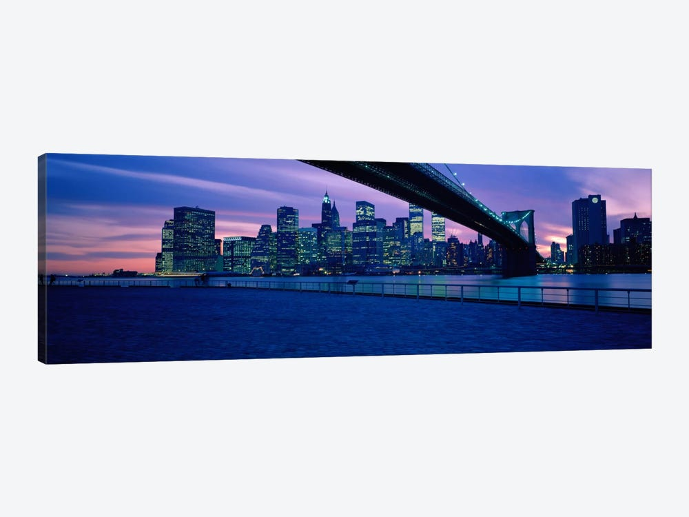 NYC, New York City New York State, USA #2 by Panoramic Images 1-piece Canvas Art Print