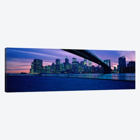 NYC, New York City New York State, USA #2 Canvas Print #PIM1417} by Panoramic Images Canvas Art Print