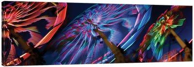 Paper Windmills in Zoom Canvas Print #PIM14180