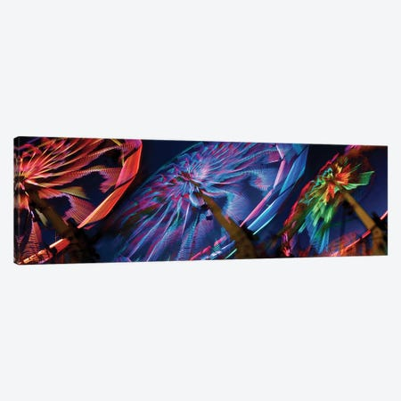 Paper Windmills in Zoom Canvas Print #PIM14180} by Panoramic Images Canvas Artwork