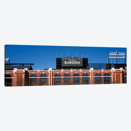 Home Of The Texas Rangers, Globe Life Park In Arlington, Arlington, Tarrant County, Texas, USA Canvas Print #PIM14181} by Panoramic Images Canvas Artwork