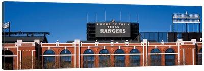 Home Of The Texas Rangers, Globe Life Park In Arlington, Arlington, Tarrant County, Texas, USA Canvas Art Print
