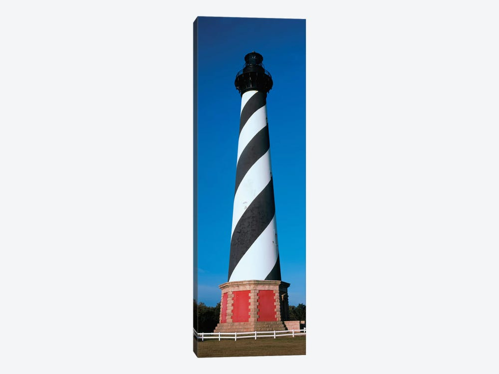 Cape Hatteras Lighthouse, Hatteras Island, Outer Banks, Buxton, Dare County, North Carolina, USA by Panoramic Images 1-piece Canvas Art