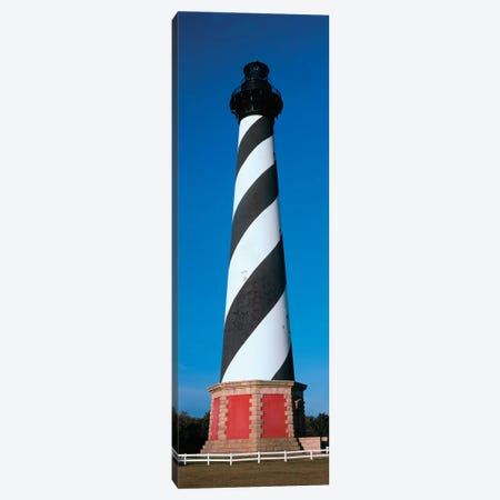 Cape Hatteras Lighthouse, Hatteras Island, Outer Banks, Buxton, Dare County, North Carolina, USA 3-Piece Canvas #PIM14183} by Panoramic Images Canvas Artwork
