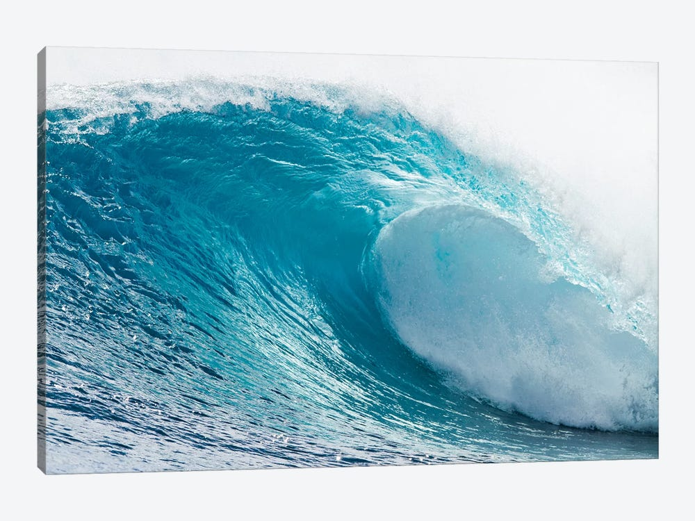 Plunging Waves I, Sout Pacific Ocean, Tahiti, French Polynesia by Panoramic Images 1-piece Canvas Print
