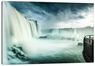 Iguazu Falls, Iguazú National Park (Argentina) and Iguaçu National Park (Brazil), South America Canvas Art Print