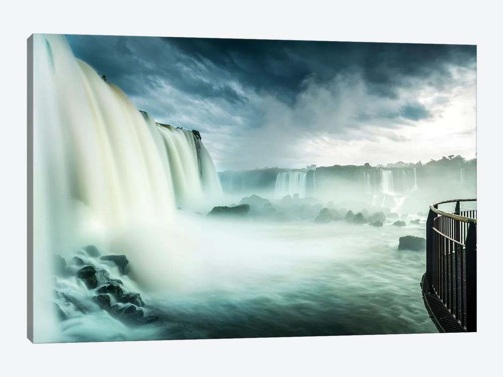 Iguazu Falls, Iguazú National Park (Argentina) and Iguaçu National Park (Brazil), South America by Panoramic Images 1-piece Canvas Art