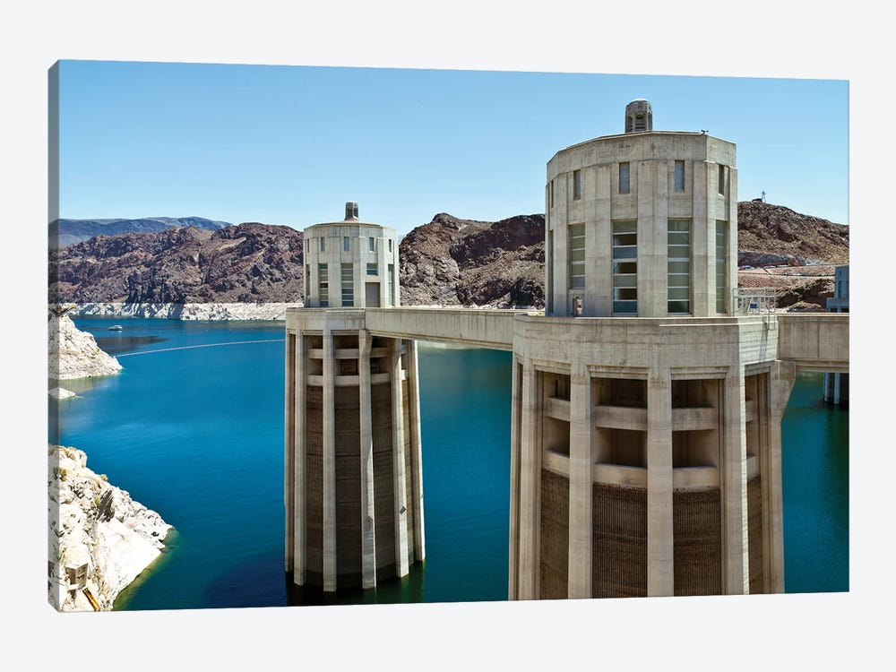 Penstock Towers, Hoover Dam, Nevada, USA by Panoramic Images 1-piece Canvas Print