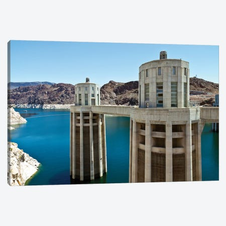 Penstock Towers, Hoover Dam, Nevada, USA Canvas Print #PIM14195} by Panoramic Images Canvas Wall Art