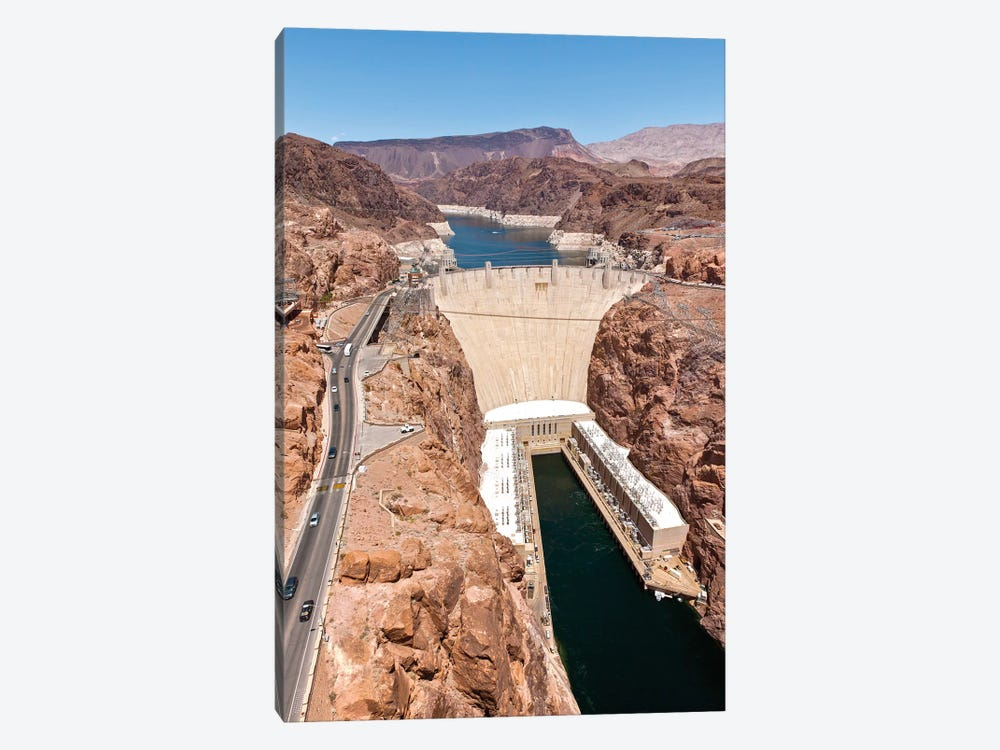 Hoover Dam, Black Canyon, Colorado River, Nevada, USA by Panoramic Images 1-piece Canvas Wall Art