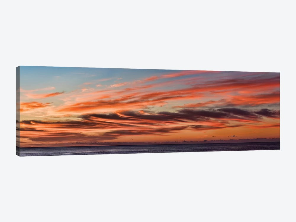 Cloudy Sky At Sunset, Cabo San Lucas, Baja California Sur, Mexico by Panoramic Images 1-piece Canvas Art Print