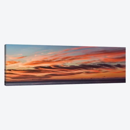 Cloudy Sky At Sunset, Cabo San Lucas, Baja California Sur, Mexico Canvas Print #PIM14204} by Panoramic Images Canvas Wall Art
