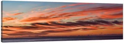Cloudy Sky At Sunset, Cabo San Lucas, Baja California Sur, Mexico Canvas Art Print