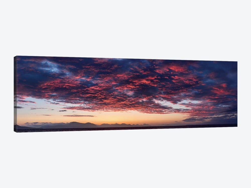 Dramatic Sky At Sunset, Alaska, USA by Panoramic Images 1-piece Art Print