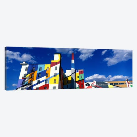 Building With Geometric Decorations, Minneapolis, Minnesota, USA Canvas Print #PIM1420} by Panoramic Images Art Print