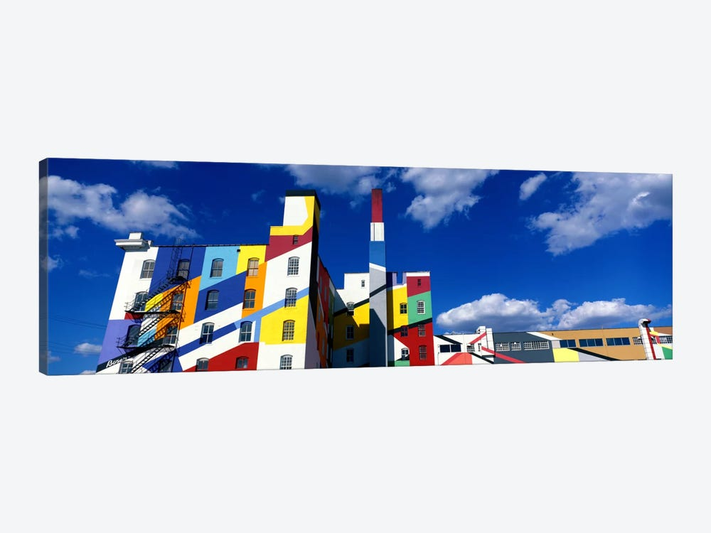 Building With Geometric Decorations, Minneapolis, Minnesota, USA by Panoramic Images 1-piece Canvas Art Print