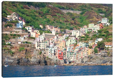 Riomaggiore I (One Of the Cinque Terre), La Spezia Province, Liguria Region, Italy Canvas Art Print