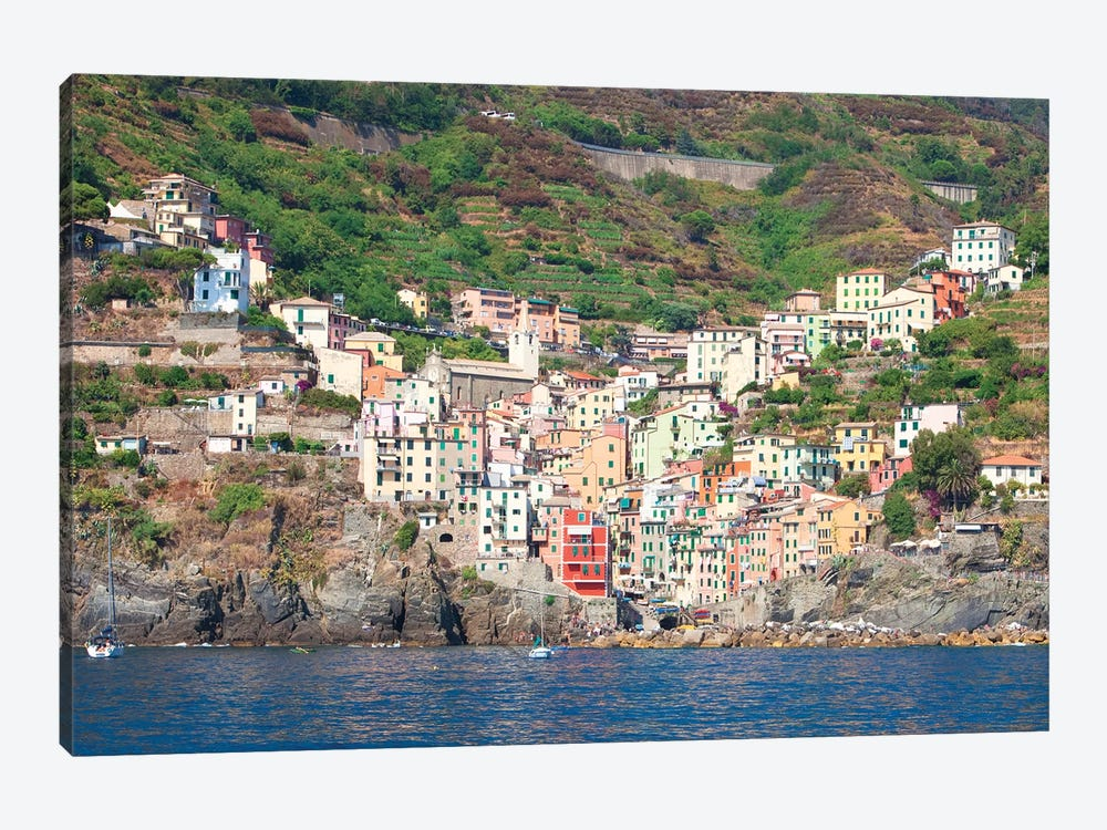 Riomaggiore I (One Of the Cinque Terre), La Spezia Province, Liguria Region, Italy by Panoramic Images 1-piece Canvas Wall Art