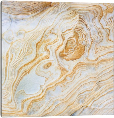 Sandstone Swirl Pattern I, Grand Staircase-Escalante National Monument, Utah, USA Canvas Art Print