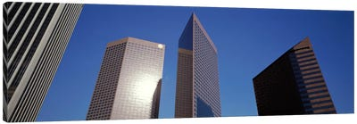 Low Angle View Of Downtown Office District, Los Angeles, California, USA #2 Canvas Print #PIM1422