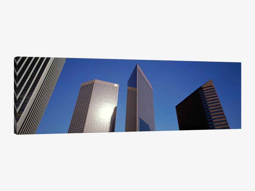 Low Angle View Of Downtown Office District, Los Angeles, California, USA #2 by Panoramic Images 1-piece Art Print