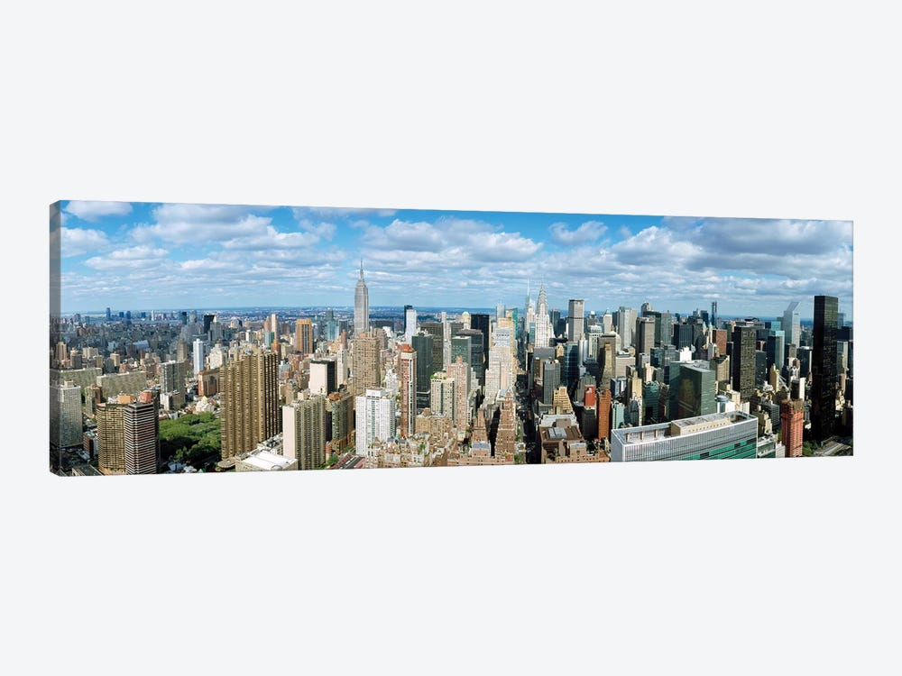 Aerial View Of A City, New York City, New York State, USA by Panoramic Images 1-piece Canvas Art