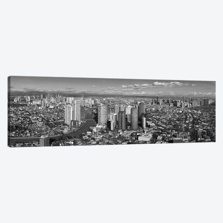 Aerial View Of Cityscape, Makati, Philippines Canvas Print #PIM14237} by Panoramic Images Canvas Art Print