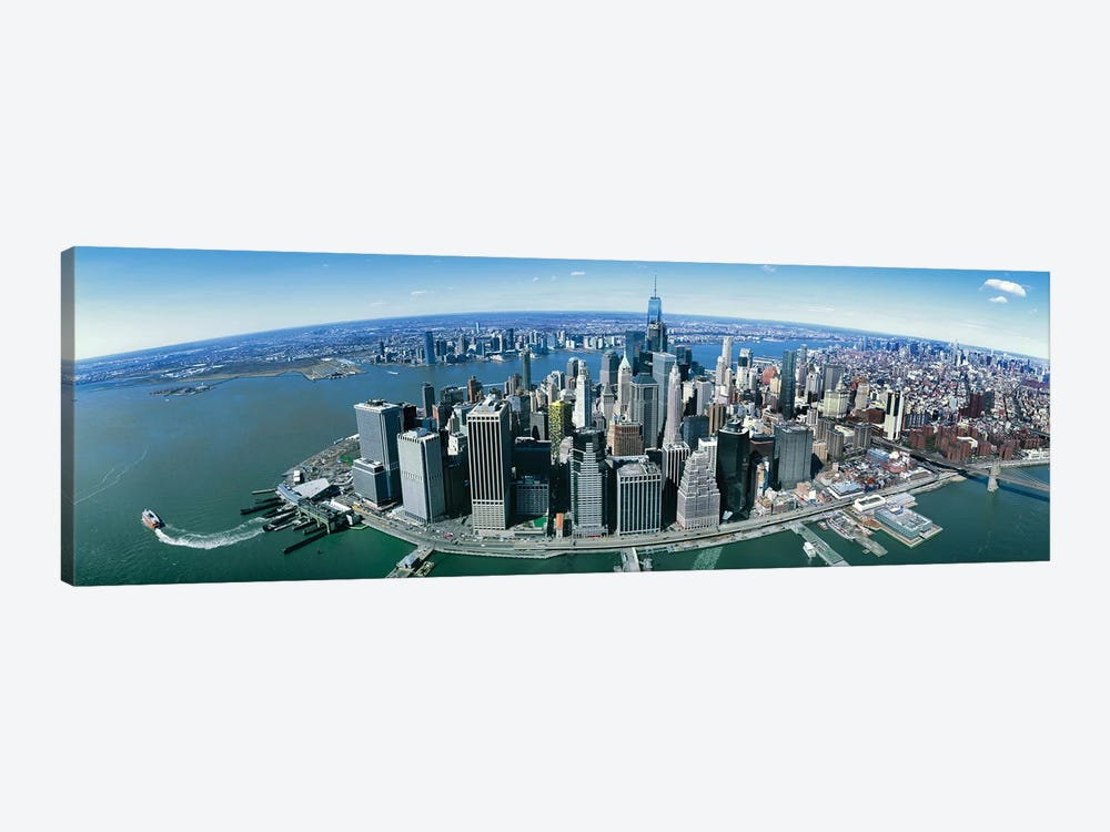 Aerial View Of New York City, New York State, USA II by Panoramic Images 1-piece Art Print