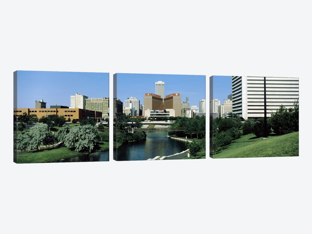 Omaha NE USA by Panoramic Images 3-piece Canvas Wall Art