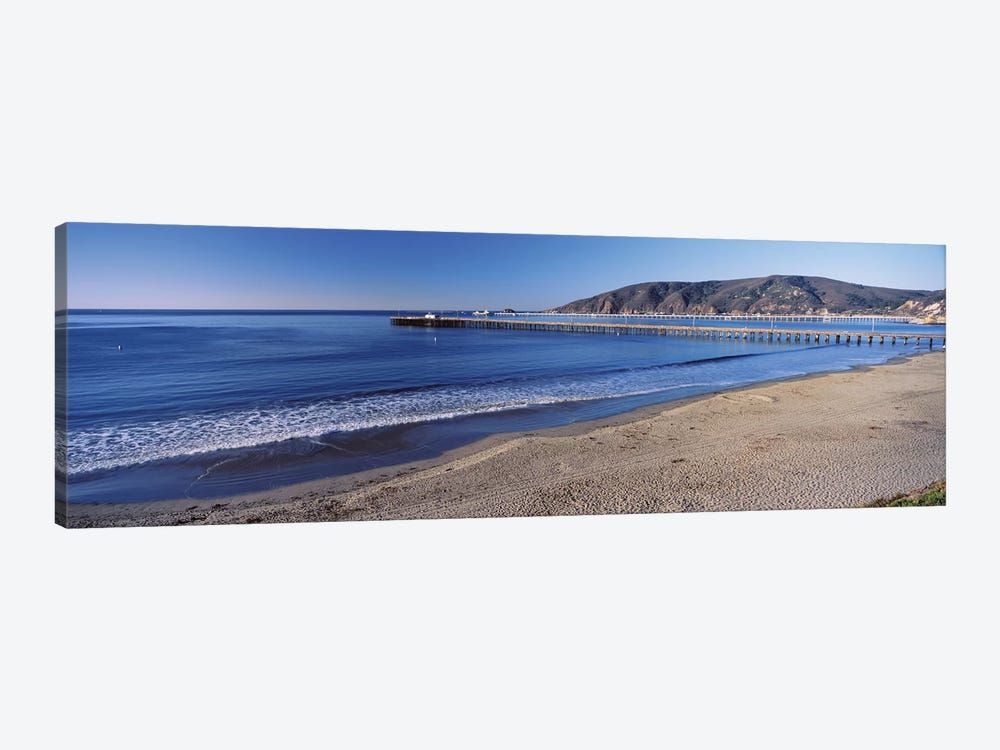 Avila Beach Pier, San Luis Obispo County, California, USA 1-piece Canvas Art Print
