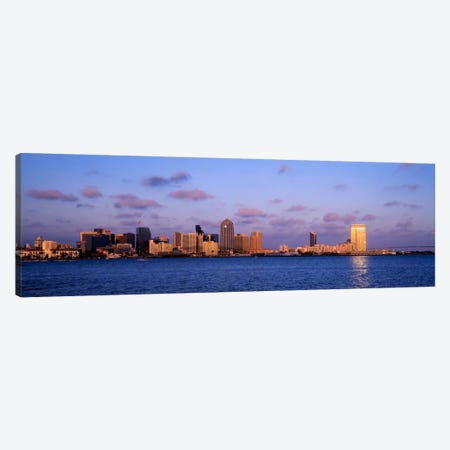 Sunset, San Diego, California, USA Canvas Print #PIM1432} by Panoramic Images Canvas Wall Art
