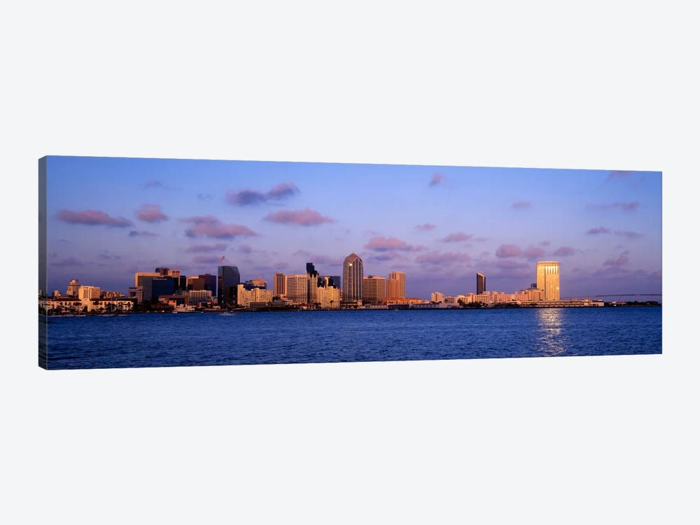 Sunset, San Diego, California, USA by Panoramic Images 1-piece Canvas Wall Art