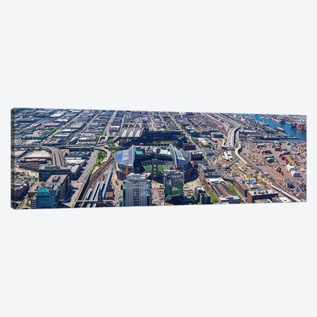 Centurylink Field And Safeco Field From Sky View Observatory - Columbia Center, Seattle, Washington State, USA Canvas Print #PIM14335} by Panoramic Images Canvas Wall Art